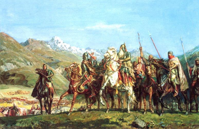 Половцы на кубани доклад 1486